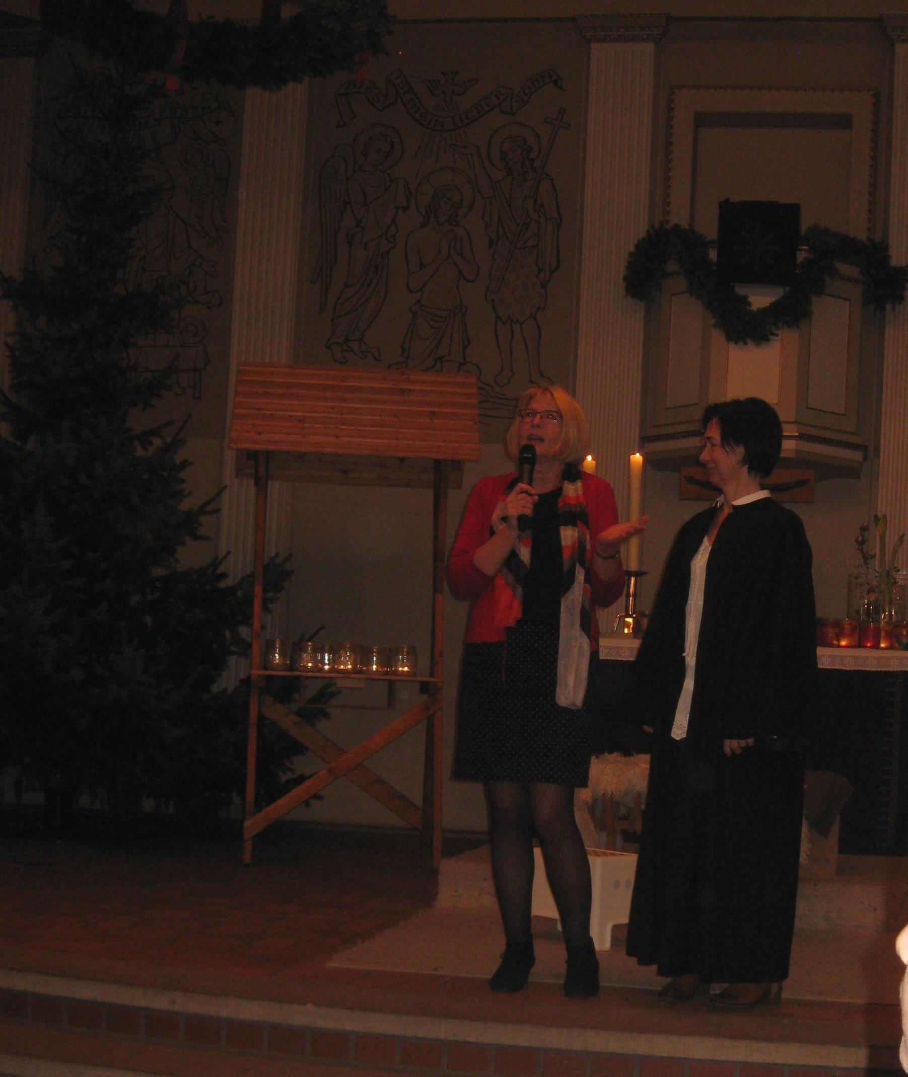 4Begrüßung Pstorin Frau om Brocke - Frau Eckermann