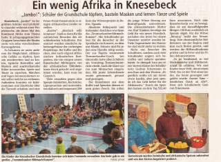 Ein wenig Afrika in Knesebeck